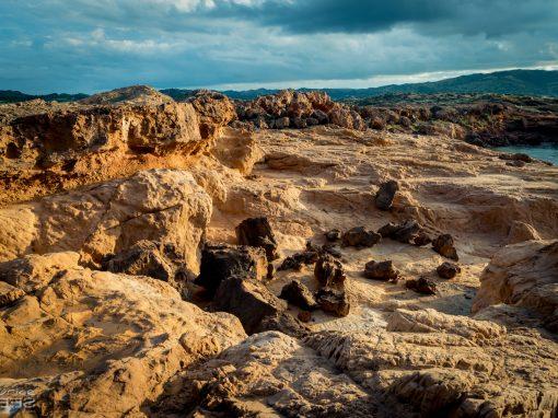 Menorca unspoiled mars landscapes