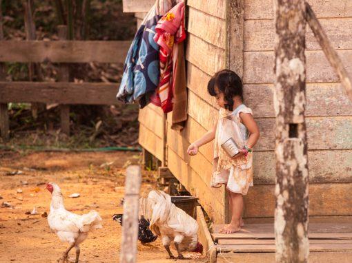 Orang Asli girl, Borneo